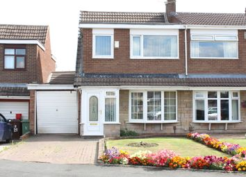 Thumbnail 3 bed semi-detached house for sale in Andover Crescent, Winstanley, Wigan