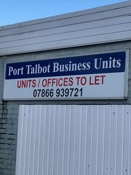 Thumbnail Industrial to let in Port Talbot Business Units, Addison Road, Port Talbot, West Glamorgan
