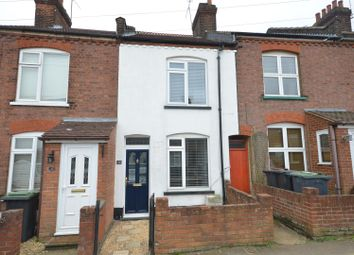 Thumbnail 2 bed terraced house to rent in Moreton Road South, Luton