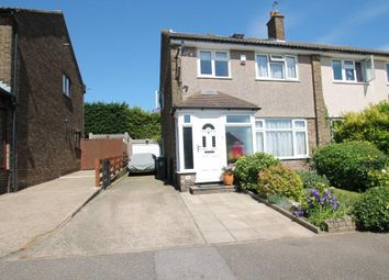 Thumbnail 3 bed semi-detached house for sale in North Dene, Chigwell