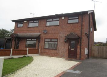 Thumbnail 3 bed semi-detached house for sale in Betjeman Way, Crewe
