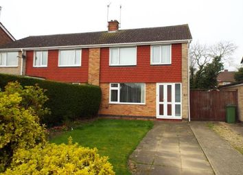 Thumbnail 3 bedroom semi-detached house for sale in Kings Walk, Leicester Forest East, Leicester, Leicestershire