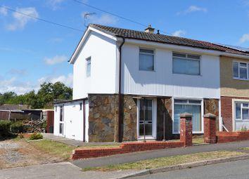 Thumbnail 3 bed semi-detached house for sale in St. Illtyds Road, Bridgend, Bridgend, Mid Glamorgan.