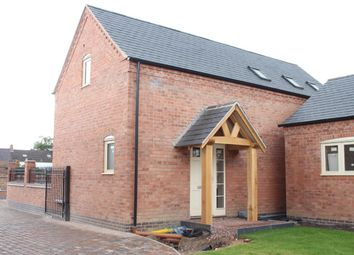 Thumbnail 3 bed detached house for sale in Church Street, Burbage, Hinckley