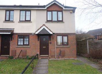 Thumbnail 2 bed end terrace house to rent in Sidon Hill Way, Cannock