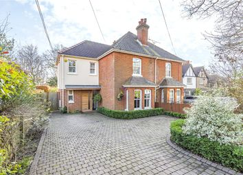 Thumbnail 3 bed semi-detached house for sale in Otterbourne Road, Shawford, Winchester, Hampshire
