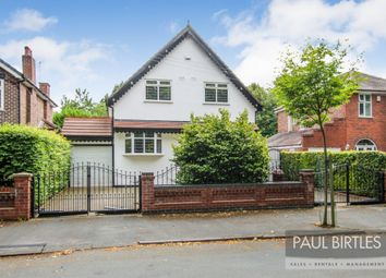 Thumbnail 3 bed detached house for sale in Vicarage Road, Davyhulme