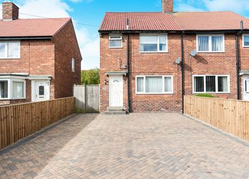 Thumbnail 3 bed semi-detached house for sale in Elmfield Gardens, Wallsend