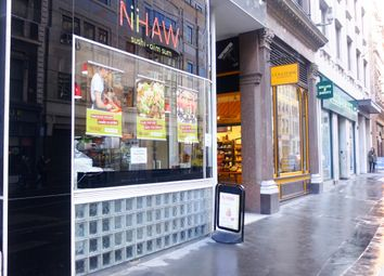 Thumbnail Restaurant/cafe to let in Cannon Street, London