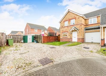 Thumbnail 3 bed semi-detached house for sale in Greenwich Close, Scunthorpe