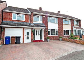 Thumbnail 4 bed semi-detached house for sale in Adastral Close, Newmarket