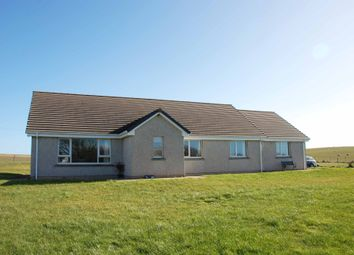 Thumbnail 3 bed detached bungalow for sale in Tayburn, St Margaret's Hope