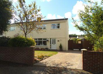 Thumbnail 3 bed semi-detached house for sale in Park Court Road, Bridgend