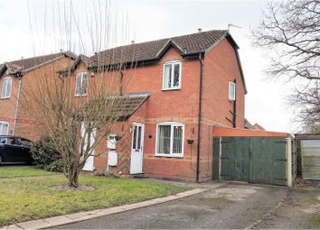 Thumbnail 2 bedroom semi-detached house for sale in Smalley Drive, Oakwood, Derby