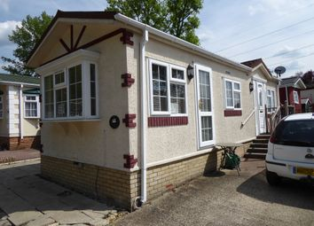 Thumbnail 1 bed mobile/park home for sale in First Avenue, Breach Barnes Park (Ref 6219), Waltham Abbey, Essex