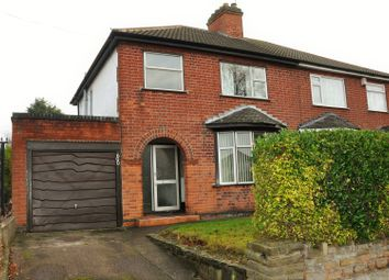 Thumbnail 3 bedroom semi-detached house for sale in Saffron Lane, Leicester