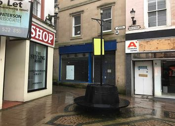 Thumbnail Commercial property to let in High Street, Ayr