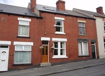 Thumbnail 3 bed terraced house to rent in Haughton Road, Woodseats