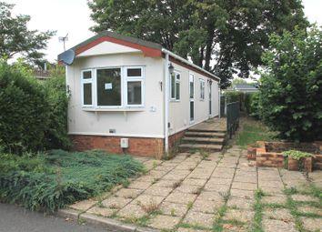 Thumbnail 1 bedroom mobile/park home for sale in Main Road, Willows Riverside Park, Windsor