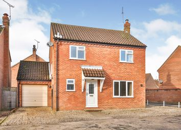 Thumbnail 3 bed detached house for sale in Beech Road, Beetley, Dereham