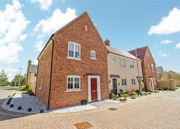 Thumbnail 3 bed end terrace house for sale in Bayley Road, Alconbury Weald, Huntingdon, Cambridgeshire