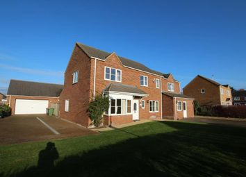 Thumbnail 5 bedroom detached house for sale in Charlemont Drive, Manea, March