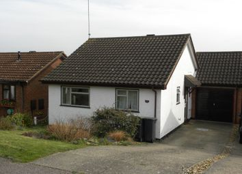 Thumbnail 2 bed detached bungalow to rent in Chequers Rise, Great Blakenham, Ipswich