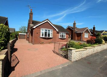 Thumbnail 3 bed detached bungalow for sale in Menai Drive, Knypersley, Biddulph