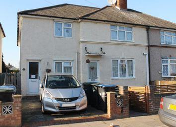 Thumbnail 2 bed maisonette for sale in Barnard Road, Enfield