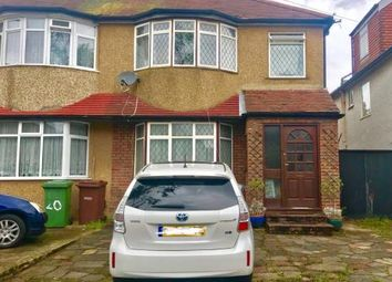 Thumbnail 3 bed semi-detached house for sale in Oakleigh Avenue, Edgware, Middlesex