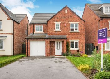 Thumbnail 4 bed detached house for sale in Scholars Drive, Hull