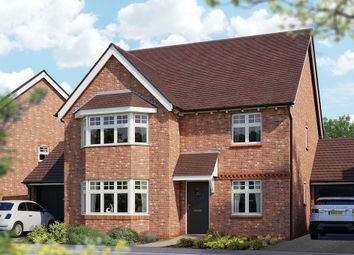 "Thumbnail 5 bed detached house for sale in ""The Oxford"" at Crewe Road, Haslington, Crewe"