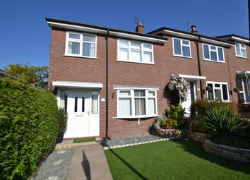 Thumbnail 3 bed end terrace house to rent in Kirkstall Close, Macclesfield