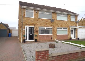 Thumbnail 3 bed semi-detached house for sale in Scarrington Crescent, Hull