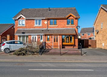 Thumbnail 3 bed semi-detached house for sale in Bloxwich Road North, Willenhall