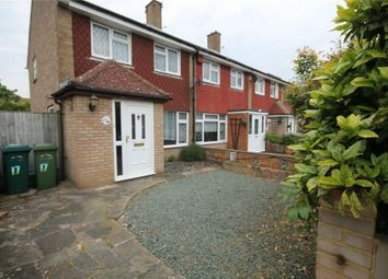 Thumbnail 3 bed end terrace house for sale in Stroud Way, Ashford, Surrey