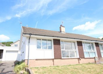 Thumbnail 2 bed semi-detached bungalow for sale in Three Oaks Close, Bedwas, Caerphilly