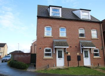 Thumbnail 3 bed semi-detached house for sale in Stocking Way, Lincoln