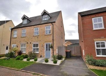 Thumbnail 3 bed terraced house for sale in Raven Way, Leighton Buzzard, Bedfordshire