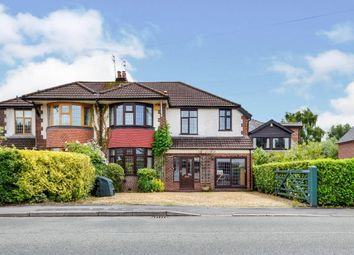 Thumbnail 5 bed semi-detached house for sale in Moor Lane, Wilmslow