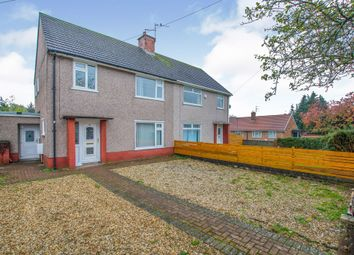 Thumbnail 3 bedroom semi-detached house for sale in Whitebarn Road, Llanishen, Cardiff