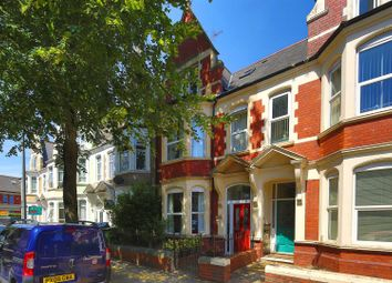 Thumbnail 6 bed town house for sale in Marlborough Road, Roath, Cardiff