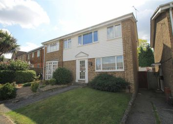 Thumbnail 3 bed semi-detached house to rent in Chatsworth Drive, Sittingbourne