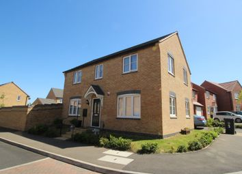Thumbnail 4 bed detached house to rent in Monmouth Way, Grantham