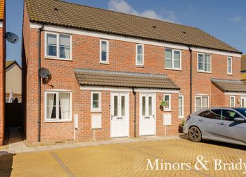 Thumbnail 2 bed end terrace house to rent in Fuller Close, Oulton, Lowestoft