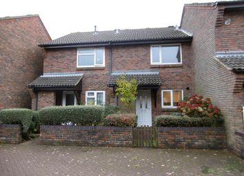 Thumbnail 2 bed terraced house for sale in Leigh Gardens, Wimborne, Dorset