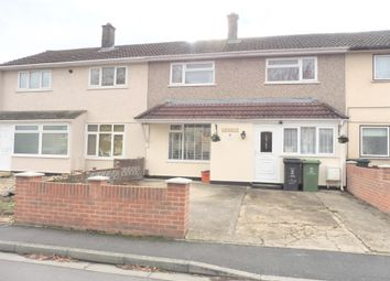 Thumbnail 3 bedroom terraced house for sale in Clevedon Close, Swindon