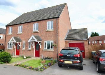 Thumbnail 3 bed semi-detached house for sale in Saxon Way, Bardney, Lincoln