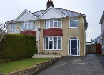 Thumbnail 3 bed semi-detached house for sale in Lon Pen Y Coed, Swansea