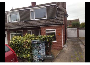 Thumbnail 3 bed semi-detached house to rent in Brookhill Drive, Leeds